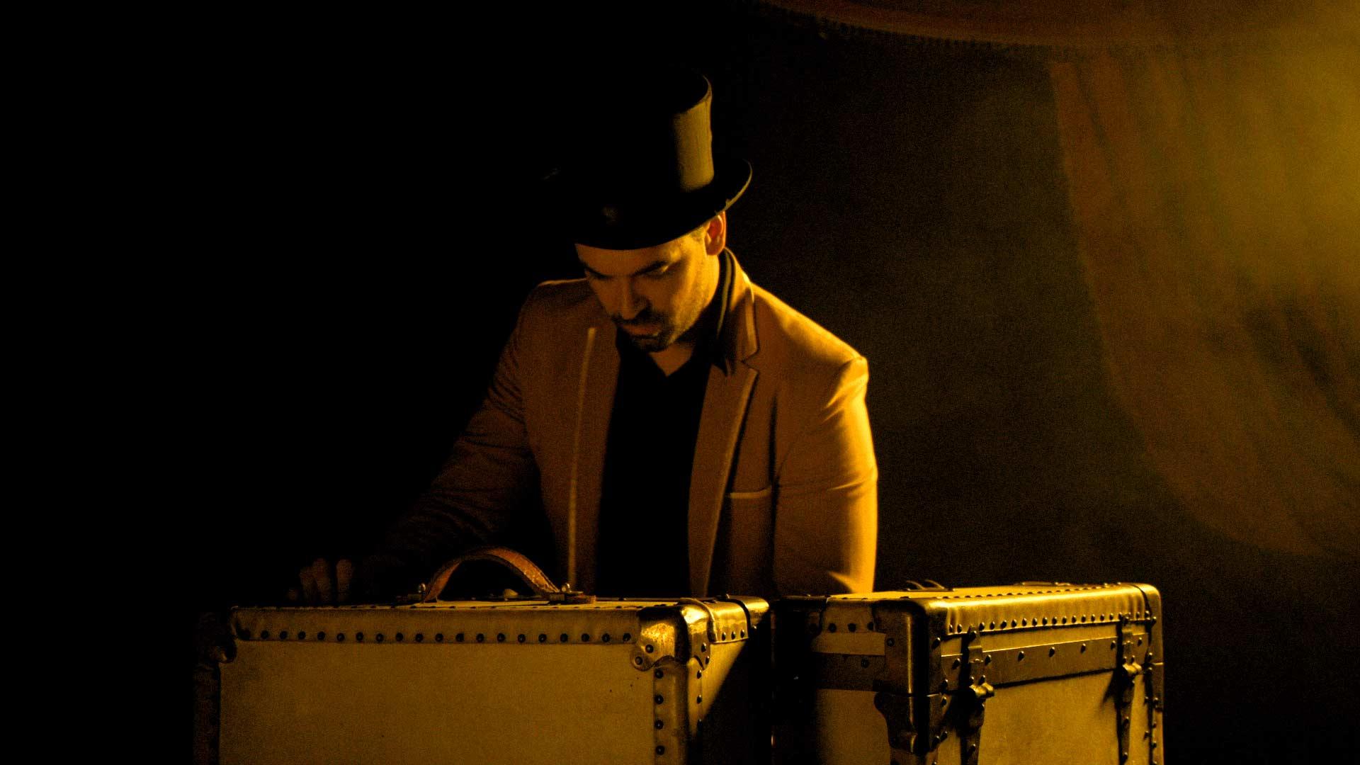 magicien professionnel spectacle noel