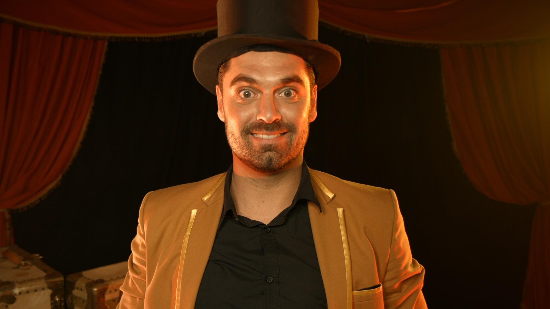 magicien professionnel - Harry Covert
